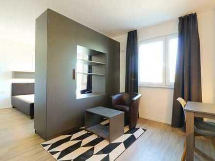 """Urbanes Design-Apartment """"Business"""" mit Wohlfühlambiente - 1 Zimmer auf 29 qm"""
