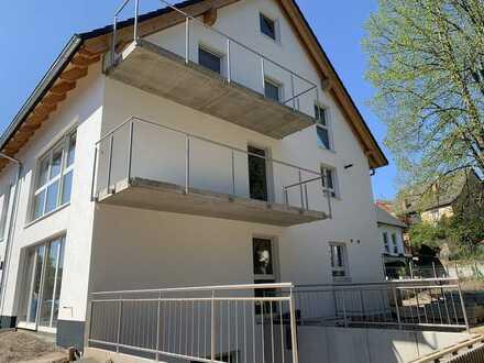 Neubau KfW 55: Zweifamilienhaus in wunderschöner idyllischer Lage von Gaiberg