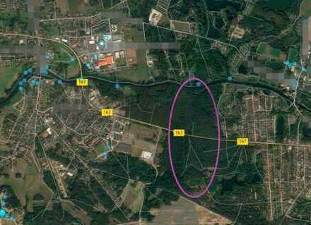 Sehr großzügiges Grundstück für Land- und Forstwirtschaft nahe Berlin und Eberswalde