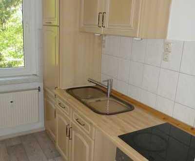Kleine 3-Zimmer-Wohnung mit Balkon u. Küche zwischen Cottbus und Burg zu vermieten!