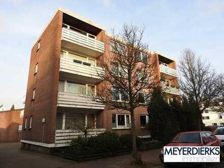 Ziegelhofviertel - Nelkenstraße: 1-Zimmer-Wohnung mit Balkon in unmittelbarer Nähe zur Innesta