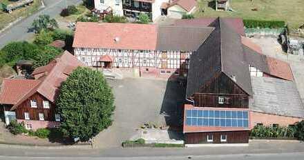 Dreiseiten – Fachwerkhof liegt in Nordhessen,