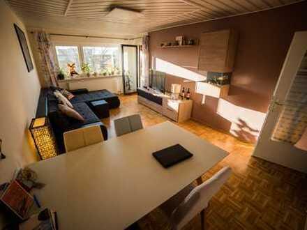 Helle ruhige 3 Zimmer-Wohnung mit Westbalkon (70,7 m²) in HN-Böckingen