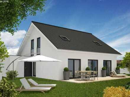 verwirklichen Sie Ihren Taum vom Eigeheim! KFW 55 Einfamilienhaus - inkl. Grundstück!