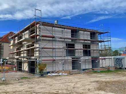 Komfort-Neubauwohnung im EG mit Terrasse und Garten, bodentiefe Fenster, Fußbodenheizung