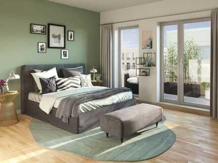 Elegante 5-Zi.-Familienwohnung mit 2 Bädern und 2 Balkonen in zukunftsorientierter Lage