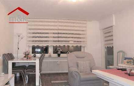 Bad Nauheim/Hochwaldgebiet: 3-Zimmer-Wohnung, Tageslichtbad, Loggia, Garage!