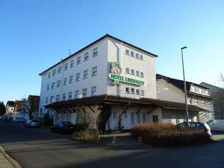 3 *** Hotel mit Gastronomie * FLUGHAFEN-Nähe * Umbau - betreutes wohnen-Micro Appartment möglich*