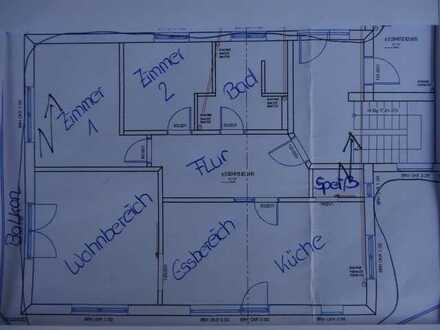 Erstbezug: freundliche 3-Zimmer-Wohnung mit Balkon in Illerbeuren