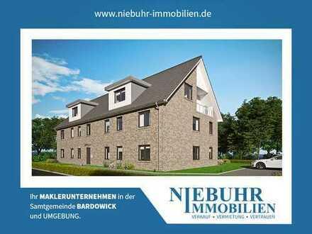 Energieeffiziente Neubauwohnung im Erdgeschoss mit Terrasse