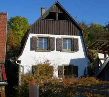Gemütliches Ferienhaus mit herrlicher Aussicht & Potenzial ! Die Alternative zur Eigentumswohnung ?