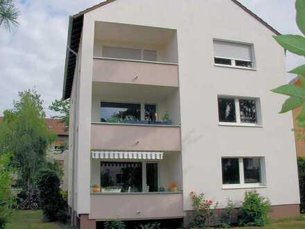 KH-Stadt, gesuchte Wohnlage, helle großzügige Wohnung mit Loggia + Garten, nur 5 Min. zum Bahhof