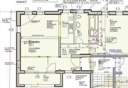 2 Zimmer Wohnung in neu renoviertem denkmalgeschütztem 4-Fam.- Haus zu vermieten
