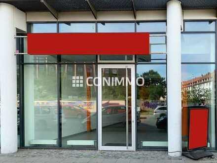 Attraktives Ladengeschäft mit werbewirksamer Schaufensterfront