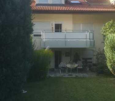 Gepflegte 3-Zimmer-Wohnung mit Terasse, Gartenanteil und EBK in Pforzheim-Buckenberg