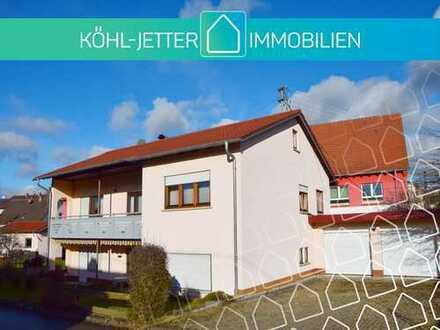 Traumhaftes Ein/Zweifamilienhaus mit Doppelgarage in attraktiver Lage von Bisingen!