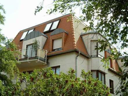 Dresden am Wilden Mann - sehr schön gelegene, sonnige3-Zimmerwohnung mit Garten und Tiefgarage