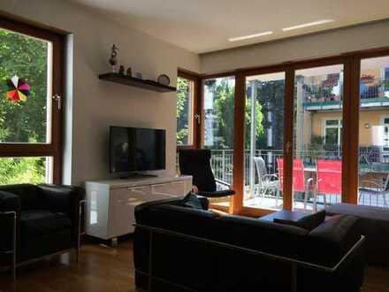 Hochwertige Wohnung (Baujahr 2008) in Top-Lage Frankfurt/Bornheim ab 1.04 zu vermieten