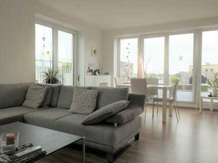Sonnige Dachterrasse - großzügige 3 Zimmer Wohnung im Oldenburger Hafen - Wassernähe