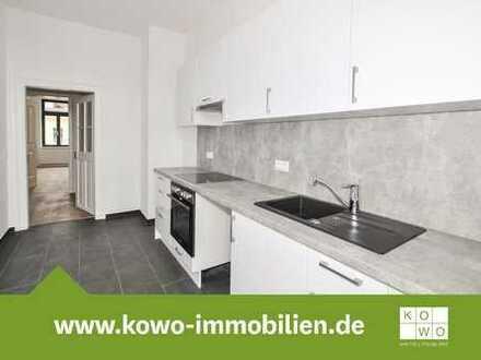 3-Zimmer-Wohnung mit Einbauküche, Balkon und Design-Vinylbelag in Zentrumsnähe