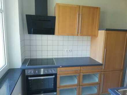 **hübsche 2-Raum -Wohnung mit Einbauküche und Balkon in Zwickau-Auerbach zu vermieten**