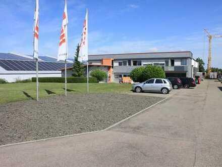 ++ Gewerbehalle mit Büroanbau und Freifläche, mehrere Stellplätze ++