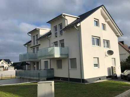 3 ZKB Erstbezug KFW 55 mit Küche, Balkon und Garage in 34266 Niestetal/Sdh mit Blick über KS