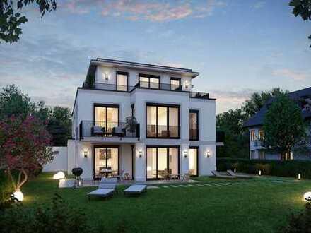 DOMINO Bau: Elegantes Penthouse mit 3 Zimmern und Einzelgarage