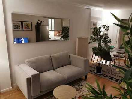 Möblierte 2-Zimmer-Wohnung in ruhiger Lage in Hamburg-Eimsbüttel für 1 bis 5 Jahre von Privat