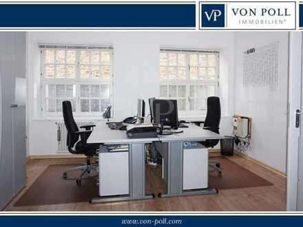 Bezugsfrei: Büro, Wohnung oder Praxis - zwei Zimmer in schöner Lage!