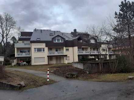 Sanierte Wohnung mit zwei Zimmern sowie Balkon und EBK in Bad Dürrheim