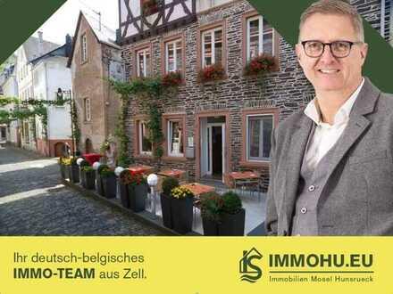 Gehobenes Hotel mit Restaurant und Erweiterungsmöglichkeiten in zentraler Altstadt-Lage von Trarbach