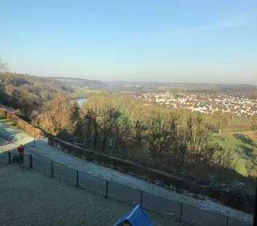 2 Zimmer Wohnung in Bad Wimpfen mit unverbaubaren Blick auf den Neckar