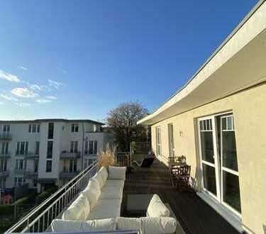 Provisionsfrei: 4-Zi Penthouse-Traumwohnung 65qm Dachterrasse Alsternah Hohenfelde/Uhlenhorst/StGeor