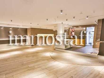 1A-LAGE! INNENSTADT IS CALLING! Top Ladenlokal mit 195 m² Aussengastronomie sucht neuen Mieter!