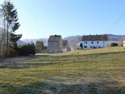 Projekt Eigenheim: schönes Grundstück in Hausten!