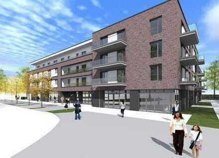 Erstbezug mit Balkon: Schöne 2-Zimmer-Wohnung im 1. OG in Hamburg-Poppenbüttel