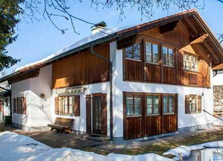Einfamilienhaus mit Bergblick in Schwangau