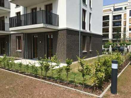 Schöne 4-Zimmer Wohnung im Europaviertel mit Garten