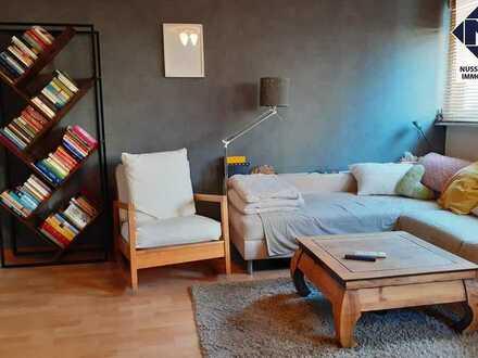 Gemütliche 3-Zimmer-Wohnung mit Terrasse, Gartenanteil und Garage