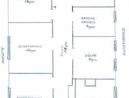 Rosenau - 5 Zimmerwohnung mit Südbalkon!