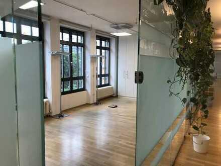 Helle Büroräume in der Linprunstraße
