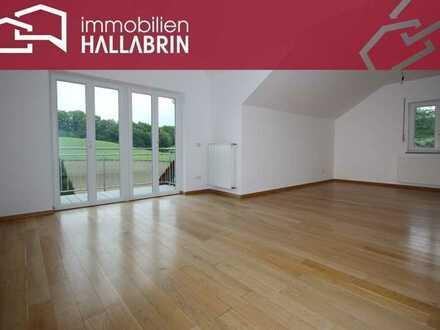 gemütlich wohnen in wunderschöner Alleinlage - 3-Zimmer-Wohnung mit Kfz-Stellplatz Nähe Bad Birnbach