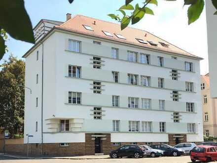 Sichere Kapitalanlage ! Schöne 2-Raumwhg. - Wohnküche mit großem Balkon, Schlafzimmer, Bad m.Fenster