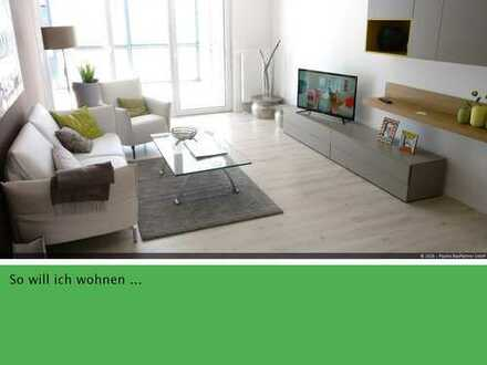 Schön geschnittene 3-Zimmer-Neubau-Wohnung mit Südwestbalkon