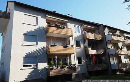 Für Handwerker: Gut eingeteilte 3-Zimmerwohnung mit Balkon und Garage in Pfuhl