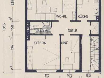 Attraktive 3-Zimmer-Wohnung mit Balkon im ersten Obergeschoß in Bottrop-Fuhlenbrock
