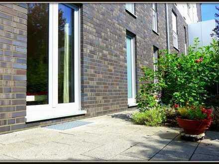 Elegante, geräumige 3-Zimmer-EG-Wohnung mit Garten und 2 Terrassen in Düsseldorf-Grafenberg