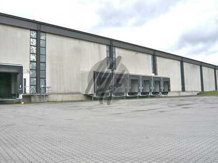 KEINE PROVISION ✓ NÄHE BAB ✓ Lager-/Logistikflächen (7.000 m²) zu vermieten