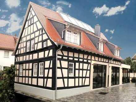 Großzügiges Wohnen, hohe Decken, große Terrasse, Luxusküche
